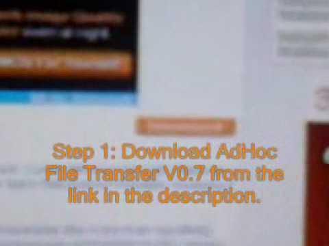 psp wifi adhoc file transfer v0.7