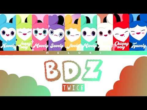 TWICE (트와이스) - 'BDZ' Color Coded Lyrics (w/ Lovelys) [JAP/ROM/ENG]