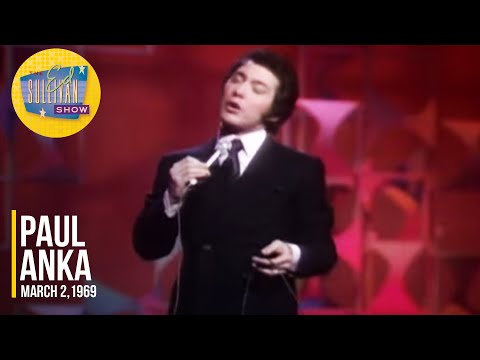 """Paul Anka """"It Only Takes A Moment"""" on The Ed Sullivan Show"""