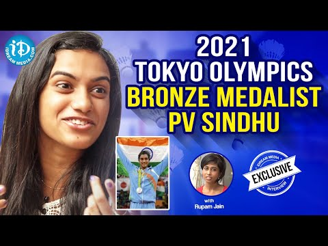 Olympic Silver Medalist PV Sindhu Exclusive Interview || Rio Olympics 2016 || #PVSindhu || #1