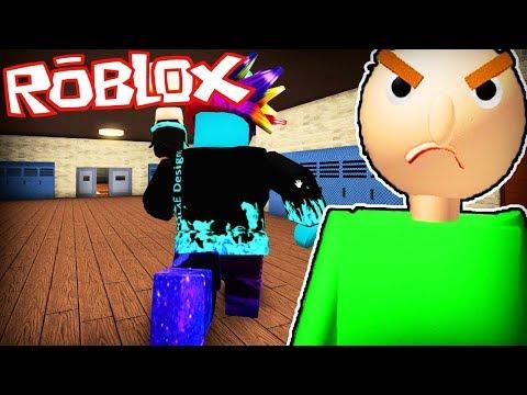 Ho sognato di diventare il MAESTRO BALDI su Roblox!!! (Roleplay)