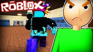 I dreamed of becoming the master BALDI on Roblox! (Roleplay)