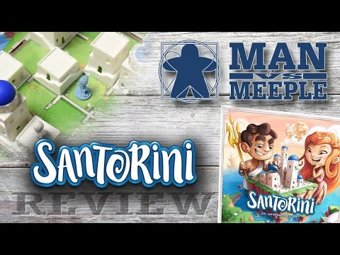 Santorini (Roxley Games) Review by Man Vs Meeple