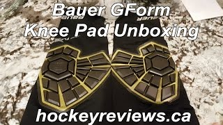 Bauer GForm FleXorb Elite Padded Knee Guard Unboxing