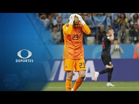 Gol, error y figura: Tremenda falla de Caballero   Televisa Deportes