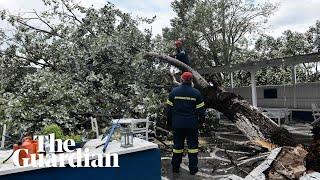 Greece: 20-minute storm kills six tourists in Halkidiki