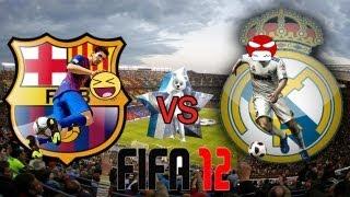 ★ Le Classico du Fun et de la Rage | Fifa 12 avec PrOxW33Dz | :D ★