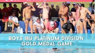 2019 Junior Olympics 18u Boys Platinum Division Gold Highlights