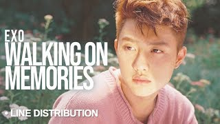 Video EXO (엑소) - Walk on Memories : Line Distribution (Color Coded) download MP3, 3GP, MP4, WEBM, AVI, FLV Juni 2018