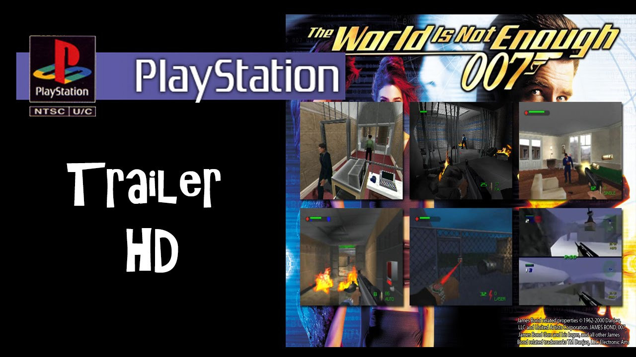 007 World Is Not Enough Ps1 Trailer Hd Youtube