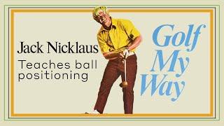 Golf My Way - Ball Position
