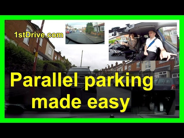 Parallel parking made easy. Park your car every time!