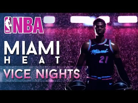 The New Miami Heat 'Vice Nights' Theme Is Lit!