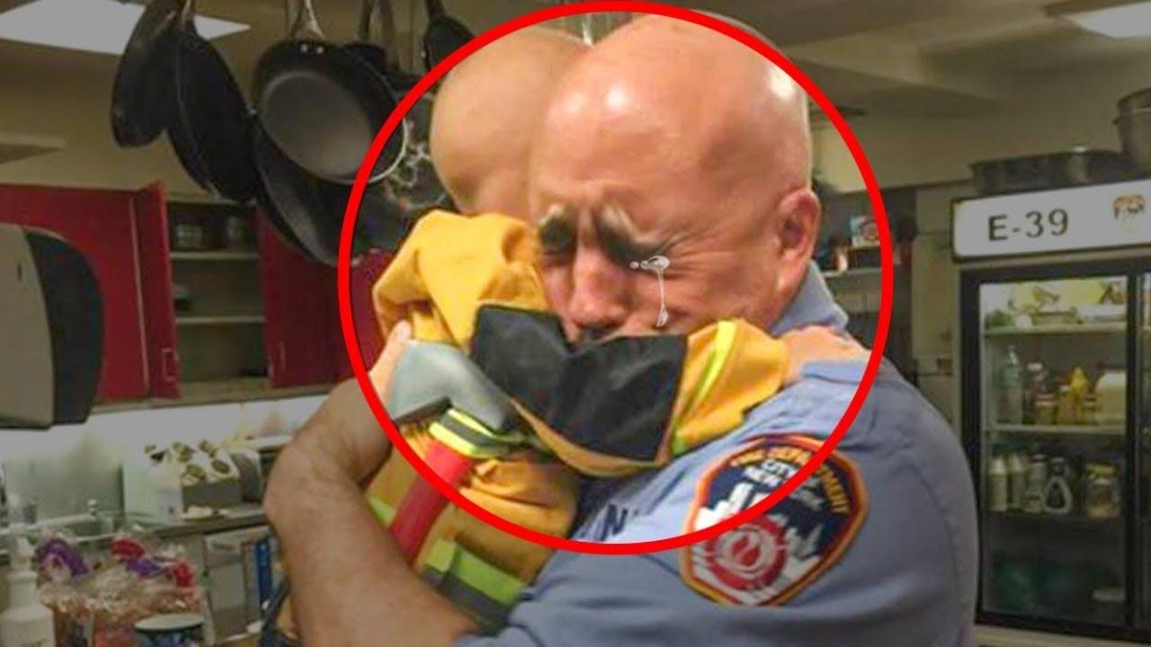 Kleine Jongen Veranderde het Leven van Honderden Brandweermannen  Zijn Verhaal Liet Hun Dit Doen