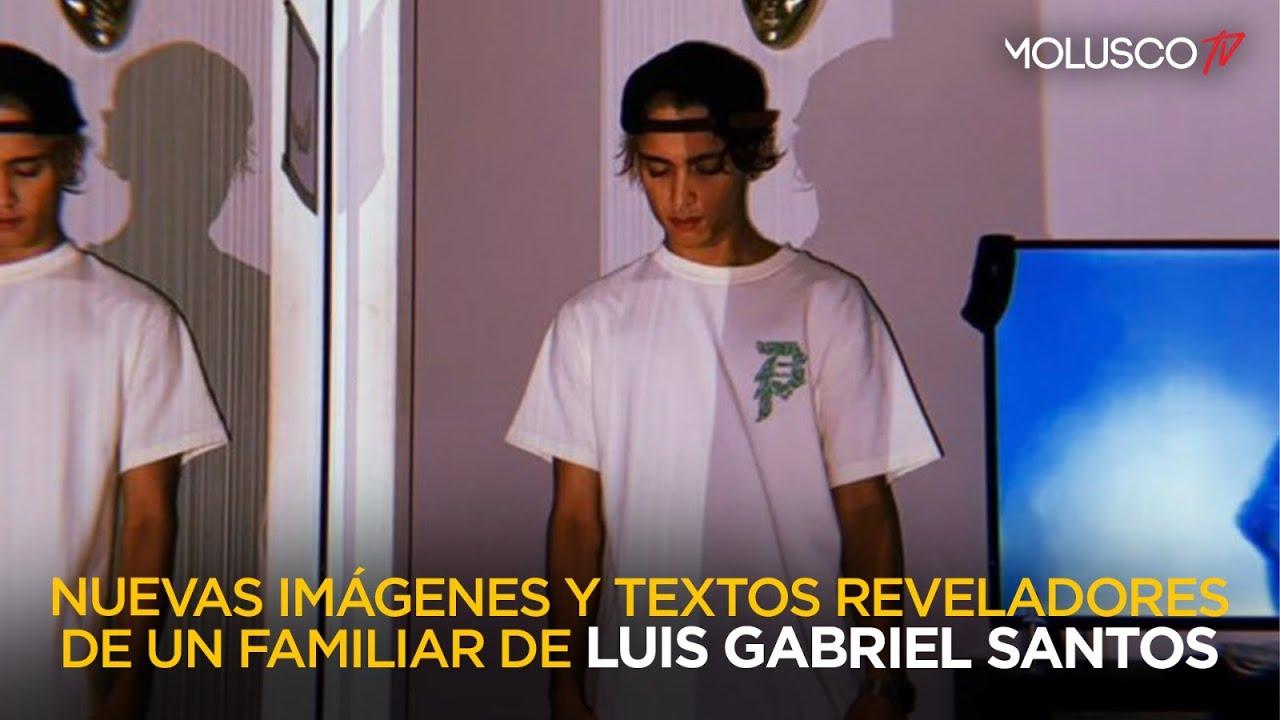 Nuevas Imágenes y textos reveladores del un familiar del joven Luis Gabriel Santos Rivera
