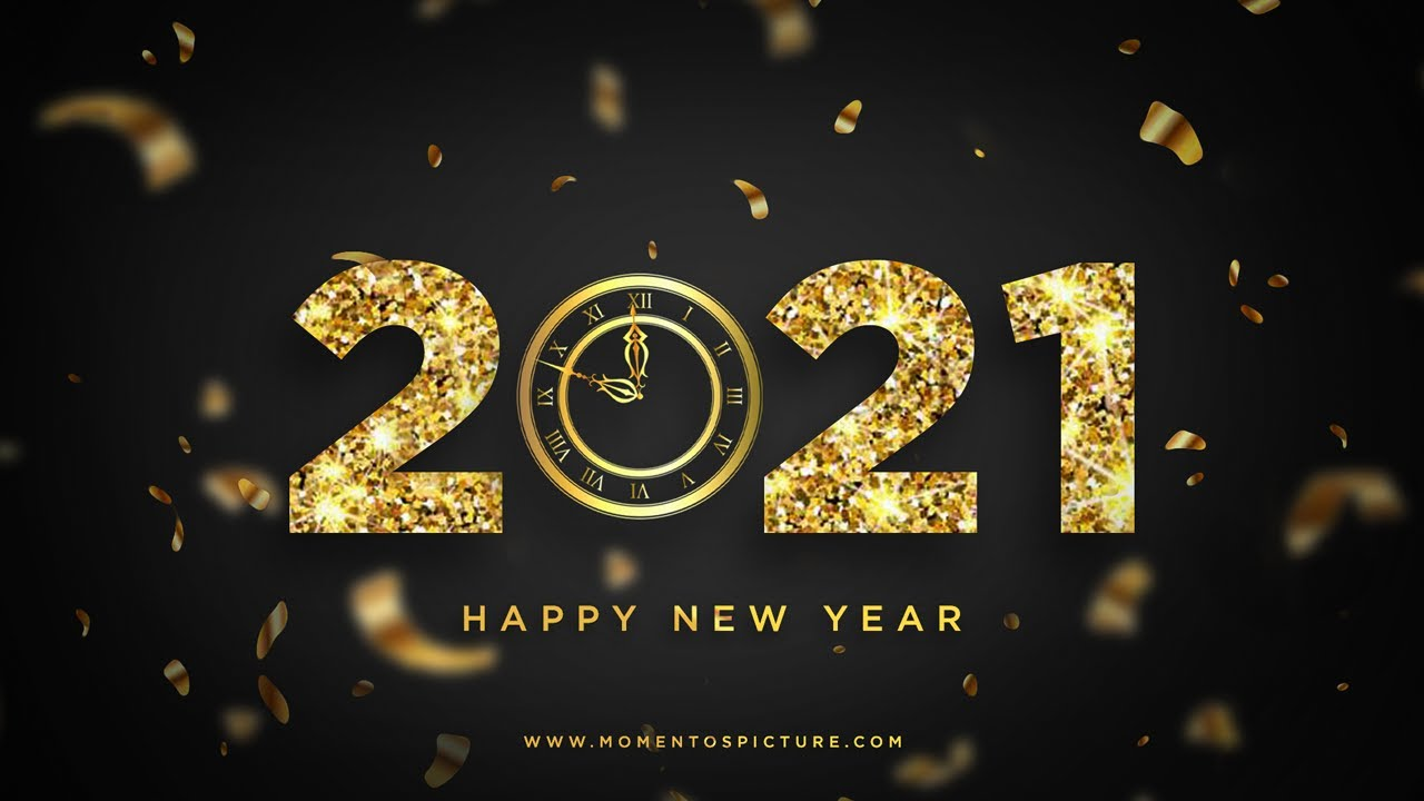 Create Happy New Year 2021 Banner Poster Design In Photoshop Golden Effect Tutorial 2021 Youtube