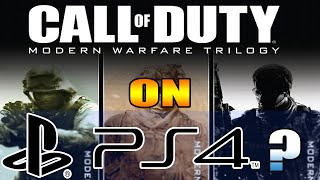 What IF: Modern Warfare Bundle Came out on PS4? | Call of Duty: Black Ops 3 |