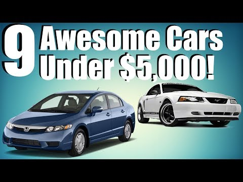 9-awesome-cars-under-$5,000!