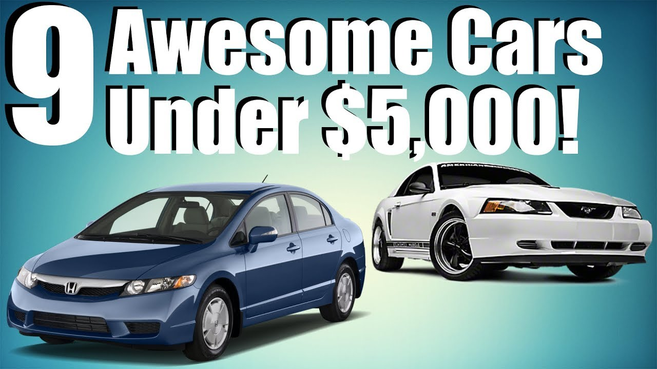 9 awesome cars under 5000
