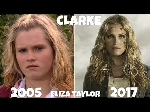 The 100 TV  Actors, Before and After they were famous