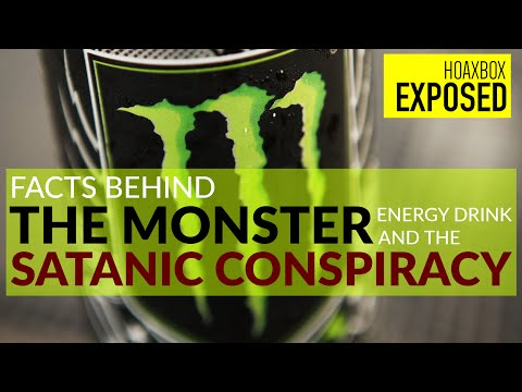 Is Monster Energy Hiding a Secret Satanic Conspiracy? | Exposing The Hoax!