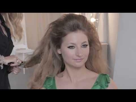 Big 1960\'s Hair Tutorial - YouTube
