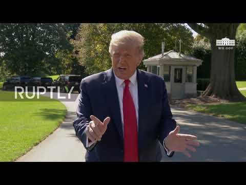 USA: 'We won the debate easily' - Trump on first pres. debate with Biden