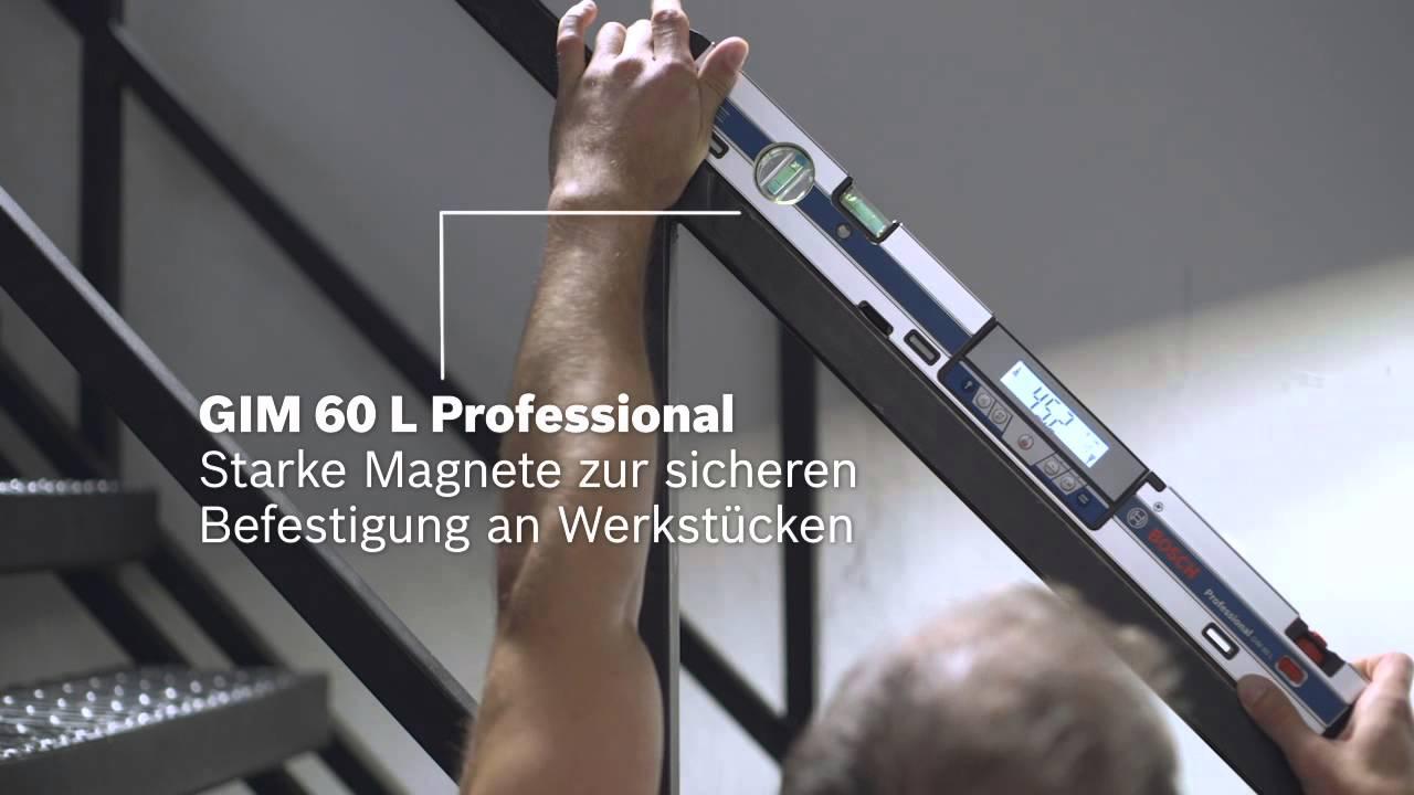 Entfernungsmesser Mit Neigungsmesser : Bosch digitale neigungsmesser gim l