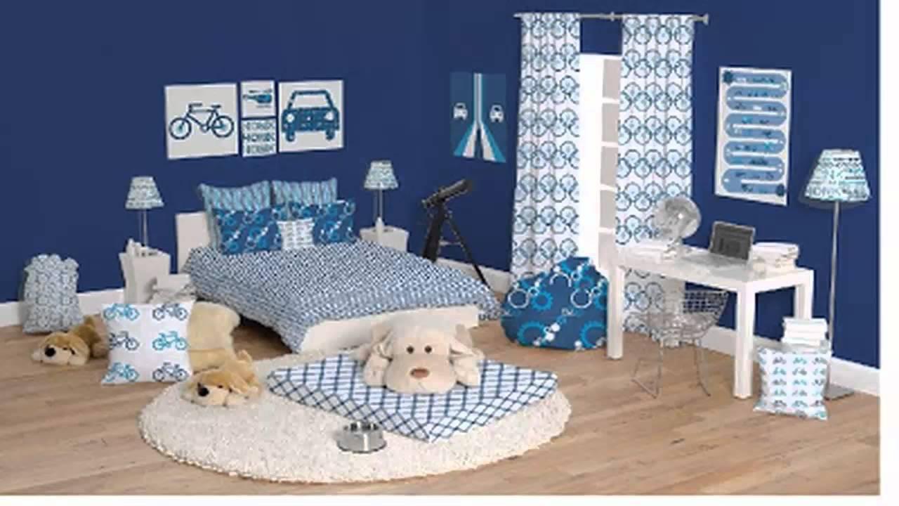 غرف نوم اولاد باللون الازرق       YouTube