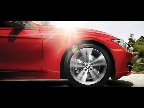 A Top Of The Line BMW 3 Series compact executive luxury sports cars