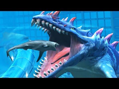 HAINOSAURUS  MAX LEVEL 40 - NEW VIP AQUATIC DINO Jurassic World The Game