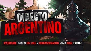 *RECRUITING PEOPLE TO COMPETE *FORTNITE NIGHT!! GASTONYS GC- *DIRECT ARGENTINO