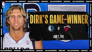Dirk Hits Game-Winner To Tie Series | #NBATogetherLive Classic Game