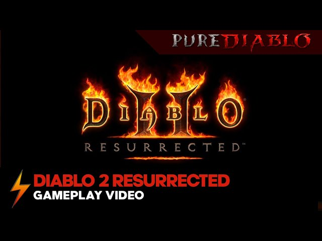Diablo 2 Resurrected Gameplay - No Commentary