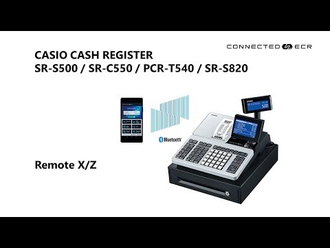CASIO SR-S500 / SR-C550 POS Cash Register - Remote X/Z (Thai)