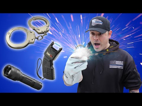 Cop Melts Police Gear With THERMITE!