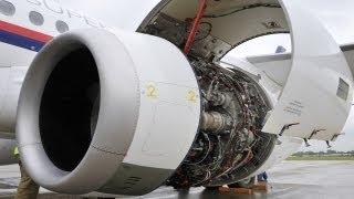 Engine SaM146 for Sukhoi Superjet 100 / Двигатель SaM146 для Сухой Суперджет 100
