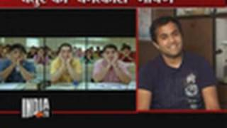 chatur live ! speech of 3 idiots ! Omi Vaidya ! india TV