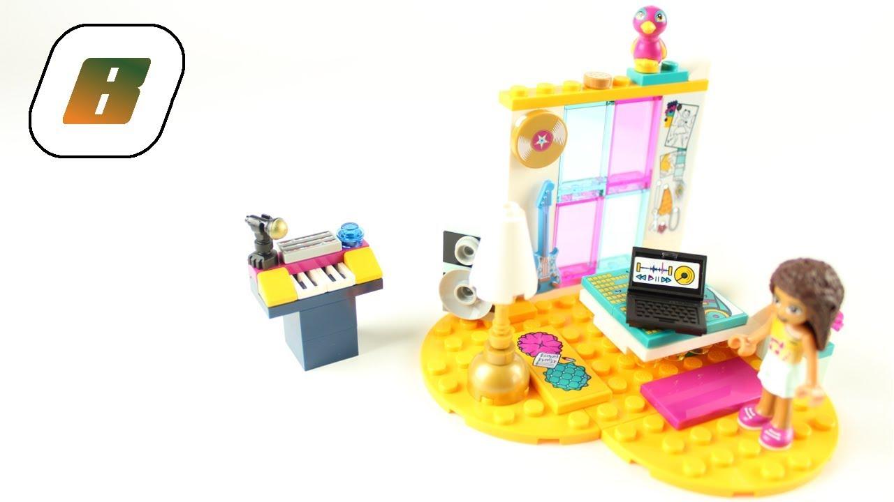 Lego Speed Build 41341 Friends Andreas Bedroom Andreas