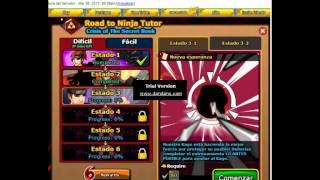 Ninja saga - Examen tutor 3 - 1 truco (NO HACK)