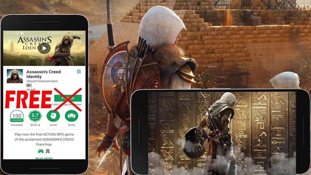 descargar assassins creed origins para android