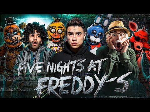 FIVE NIGHTS AT FREDDY'S EN LA VIDA REAL - LA PELÍCULA - FNAF - PARTE 1- Cancgovisión