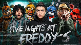 FIVE NIGHTS AT FREDDY'S EN LA VIDA REAL - LA PELÍCULA - FNAF - PARTE 1- Cancgovisión