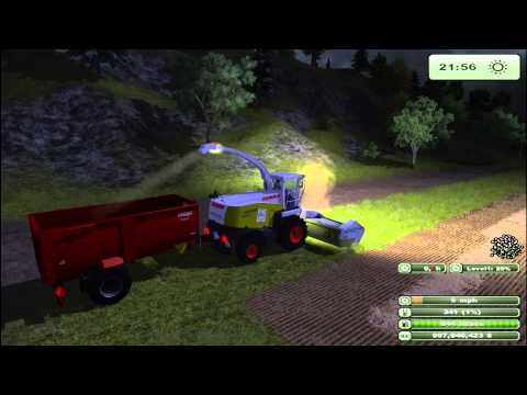 Claas Jaguar 900 Farming Simulator 2013 Mod