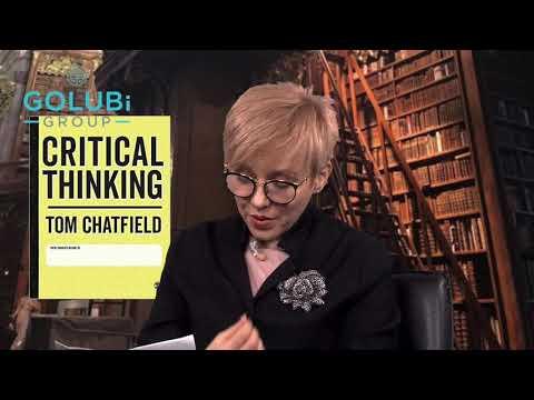 Критичне мислення  Том Чатфілд  Качай мозок разом із GOLUBi GROUP