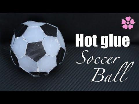 Hot Glue Soccer Ball ♥︎