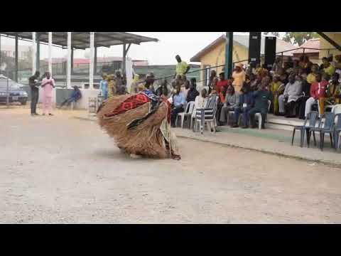 Download Igala Masquerade entertains