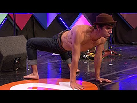 Live Contortion and Limbo at the Edinburgh Festival on Radio 2