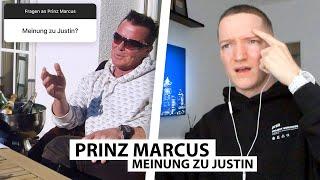 Justin reagiert auf Prinz Marcus' Interview mit Tim Gabel.. | Reaktion