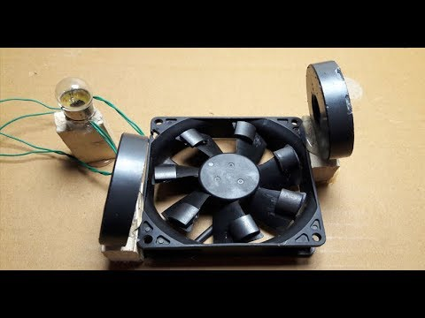 6747ba28975 Free Energy With Magnet And Cooler Fan - YouTube